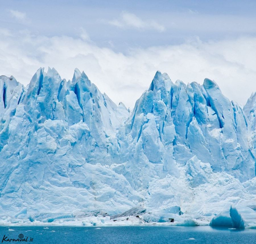 انتقال کوه یخ به دبی
