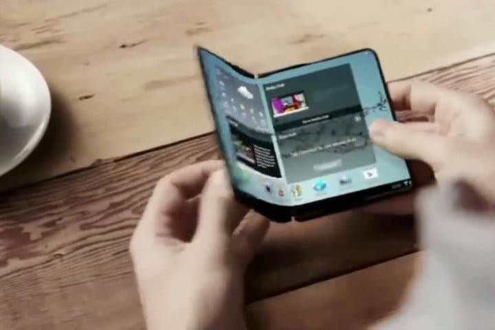تکنولو ژی گوشی های تاشوی جدید سامسونگ